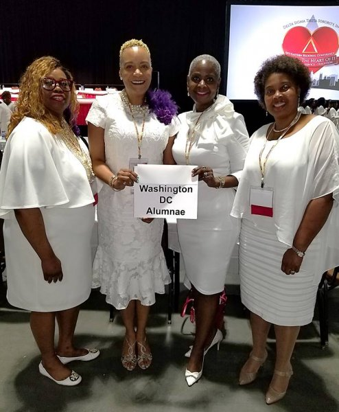 WDCAC Leadership.2018 Eastern Region Conference