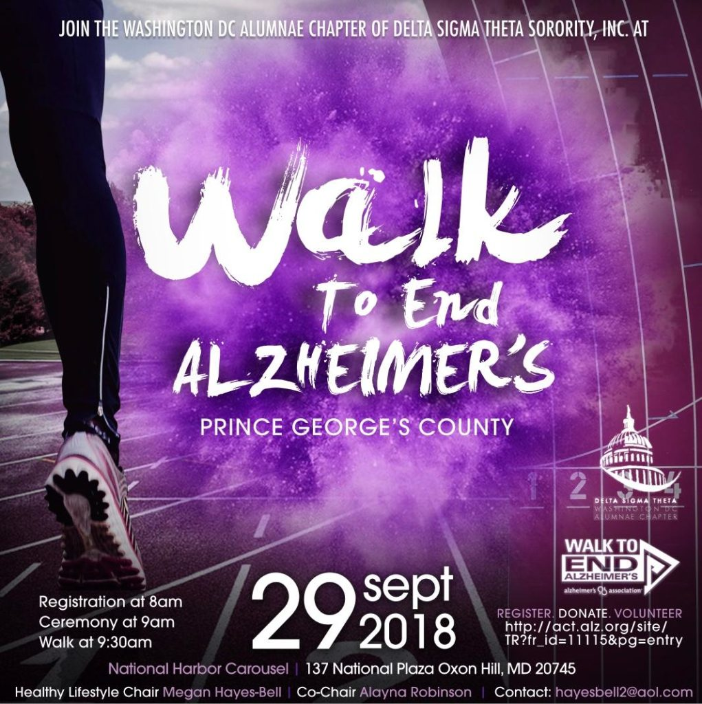 Walk to End Alzheimer's | September 29