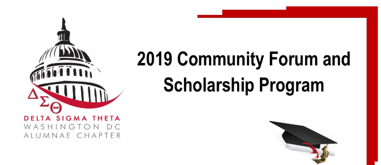 Community Forum and Scholarship Program | May 19