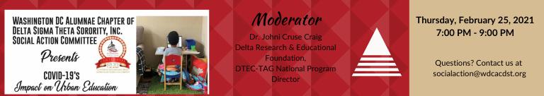 COVID-19's Impact on Urban Education | Feb. 25