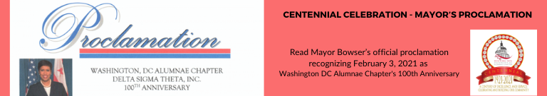 Centennial Celebration- Mayor's Proclamation