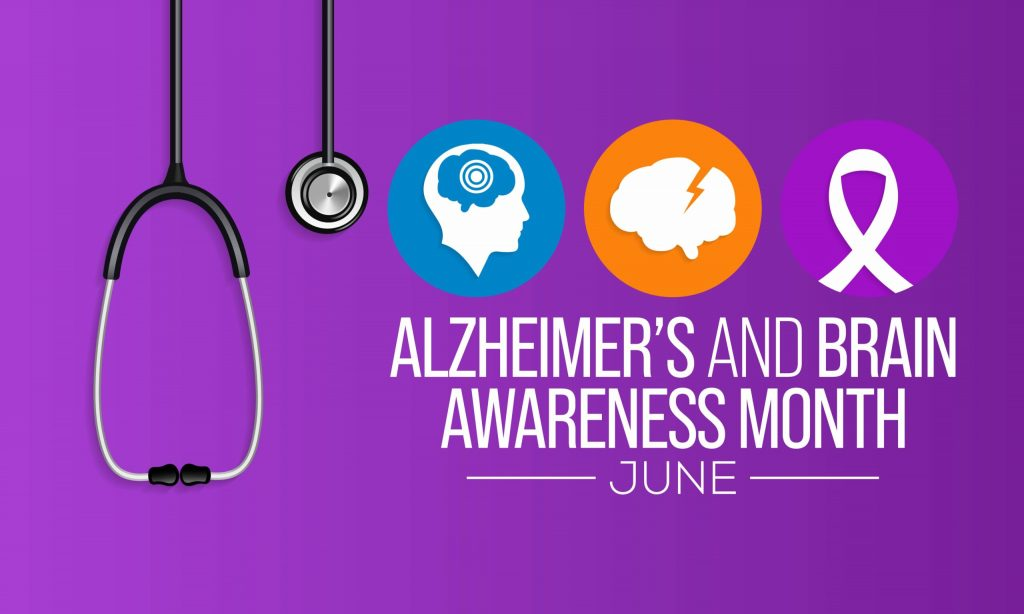 June is Alzeheimers and Brain Awareness Month